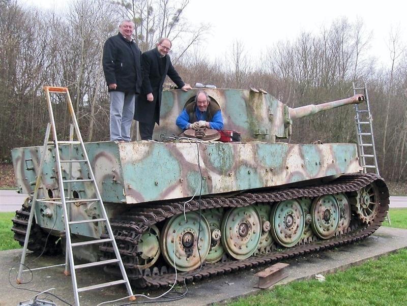 Orne. L'avenir du char Tigre de Vimoutiers interpelle jusqu'en Australie P1D2277148G